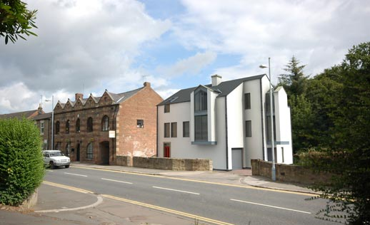 New housing in Morpeth