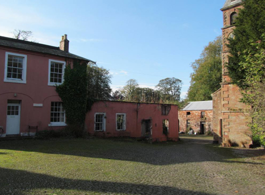 Netherby Hall, Longtown, Cumbria