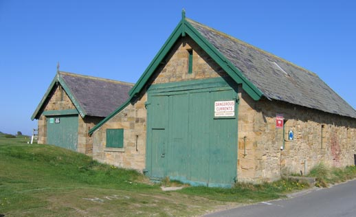 Alnmouth Boathouses